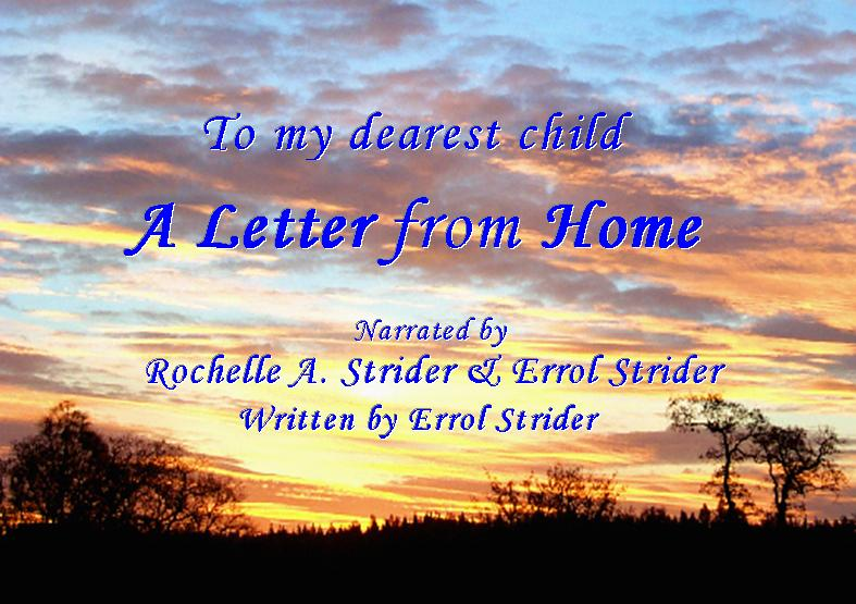 Letter From Home --Cover